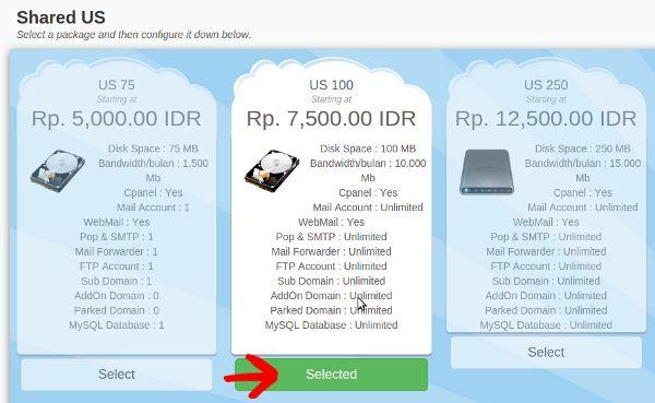 Cara Order Hosting, Domain, VPS Murah di SedudoHost.Com via Billing System4