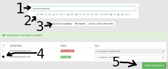Cara Order Hosting, Domain, VPS Murah di SedudoHost.Com